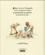 Capitaine Jules et les pirates - 4ème de couverture - Format classique