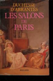 Salons De Paris - Couverture - Format classique