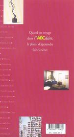 L'abcdaire de la sculpture du xxe siecle - 4ème de couverture - Format classique