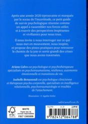 Petit guide de survie psychologique en temps de crise sanitaire - 4ème de couverture - Format classique