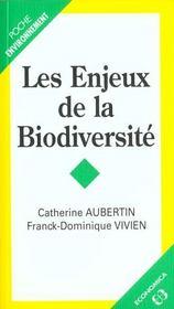 Les enjeux de la biodiversite - Intérieur - Format classique