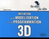 Initiation à la modélisation et à la programmation 3d - Intérieur - Format classique