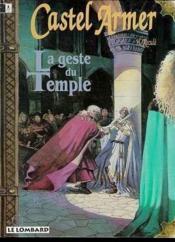 Castel Armer T.1 ; La Geste Du Temple - Couverture - Format classique