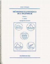 Methodes statistiques de l'ingenieur vol 1 corriges des exercices 3eedition - Couverture - Format classique