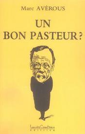 Un bon pasteur ? - Intérieur - Format classique