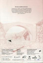 ECOLODOC T.5 ; rivières méditerranéennes - 4ème de couverture - Format classique