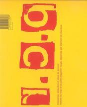 Pcr Cappuccetto Rosso - 4ème de couverture - Format classique