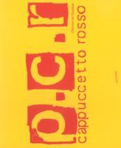 Pcr Cappuccetto Rosso - Couverture - Format classique