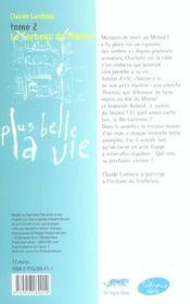 Plus belle la vie t.2 ; le corbeau du mistral - 4ème de couverture - Format classique