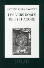 Les vers dorés de Pythagore - Couverture - Format classique