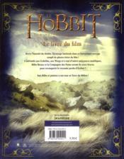 Le Hobbit ; un voyage inattendu ; le livre du film - 4ème de couverture - Format classique