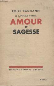 Amour Et Sagesse. - Couverture - Format classique