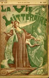 Le Vieux Marcheur. La Vie Litteraire. - Couverture - Format classique