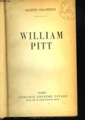 William Pitt - Couverture - Format classique