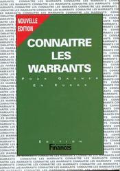 Connaitre Les Warrants - Intérieur - Format classique