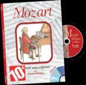 Mozart raconté aux enfants - Couverture - Format classique