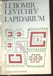 Lapidarium - Couverture - Format classique