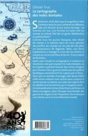 Le cartographe des Indes boréales - 4ème de couverture - Format classique