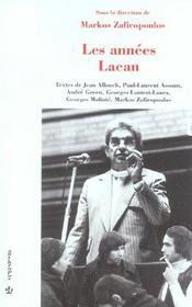 Les années Lacan - Intérieur - Format classique