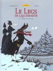 Le legs de l'alchimiste t.3 ; monsieur de saint-loup - Intérieur - Format classique