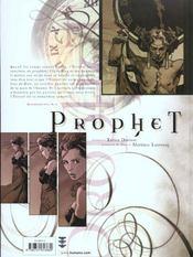 Prophet T.1 ; Ante Genesem - 4ème de couverture - Format classique
