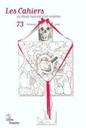 Cahiers Du Mnam N.73 - Couverture - Format classique