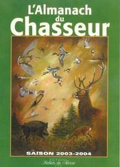Almanach Du Chasseur - Intérieur - Format classique