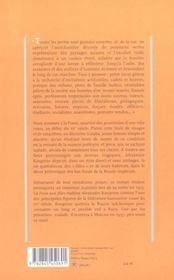 La fosse aux filles - 4ème de couverture - Format classique