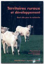 Territoires ruraux développement ; quel role pour la recherche - Couverture - Format classique