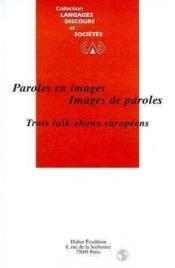 Paroles en images,images de paroles - Couverture - Format classique