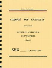 Methodes statistiques de l'ingenieur vol 2 - Couverture - Format classique
