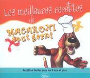 Les meilleures recettes de macaroni tout garni - Intérieur - Format classique