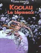 Koolau le lepreux - Intérieur - Format classique