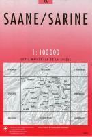 Saane, sarine - Couverture - Format classique