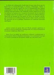 Democratie Aux Etats-Unis Et En Europe 1918-1989 Textes Et Documents Regards Sur L'Histoire 135 - 4ème de couverture - Format classique