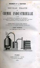 Nouveau traité de Chimie industrielle - Couverture - Format classique