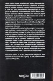 Pouvoir Intellectuel : Les Nouveaux Reseaux - 4ème de couverture - Format classique