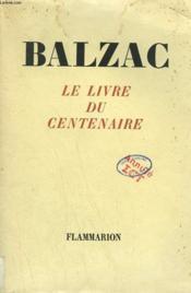Le Livre Du Centenaire. - Couverture - Format classique