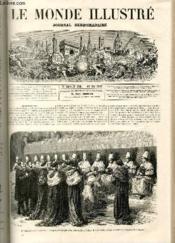LE MONDE ILLUSTRE N°526 La semaine Sainte à Rome - Couverture - Format classique