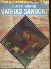MATHIAS SANDORF 1e PARTIE - Couverture - Format classique