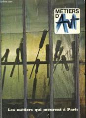 Metiers D'Art - N°1 - Couverture - Format classique