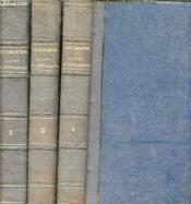 Cous familier de littérature - Un entretien par mois - En 3 Tomes - Tomes 2+3+4. - Couverture - Format classique