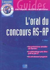 L Oral Du Concours As/Ap - Intérieur - Format classique