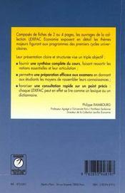 Comptabilite generale - 4ème de couverture - Format classique