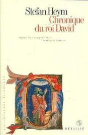 Chronique du roi david - Couverture - Format classique