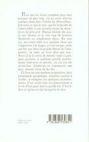 Dans L'Amitie Du Merveilleux - 4ème de couverture - Format classique