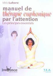 Manuel de therapie euphonique par l'attention - Intérieur - Format classique