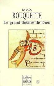 Le grand theatre de dieu - Couverture - Format classique