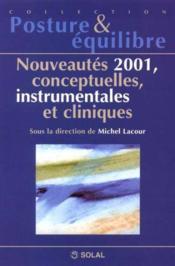 Nouveautés 2001, conceptuelles, instrumentales et cliniques - Couverture - Format classique