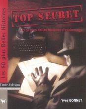 Top secret - Intérieur - Format classique